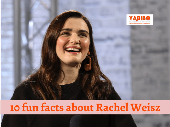 10 fun facts about Rachel Weisz