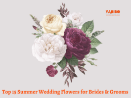 Top 15 Summer Wedding Flowers for Brides & Grooms