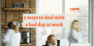 5 ways to deal with a bad day at work