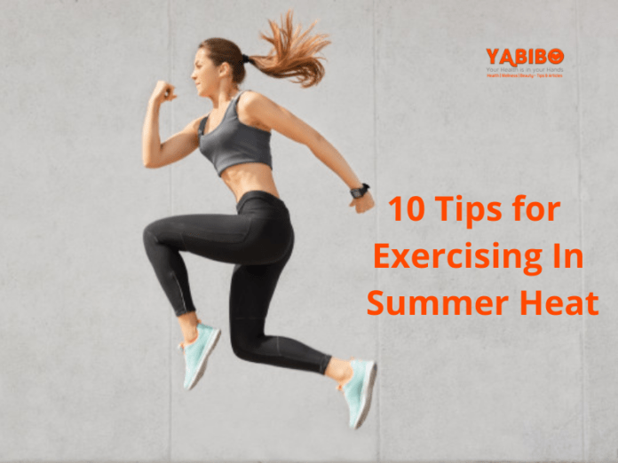 10 Tips for Exercising In Summer Heat