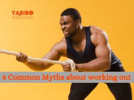 8 Common Myths about working out