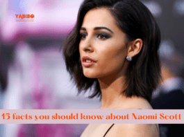 15 facts you should know about Naomi Scott