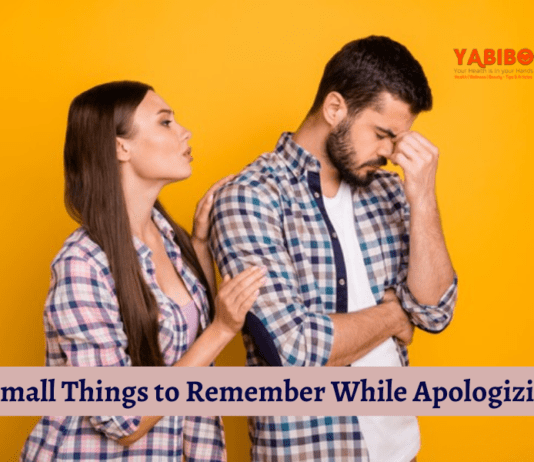 5 Small Things to Remember While Apologizing