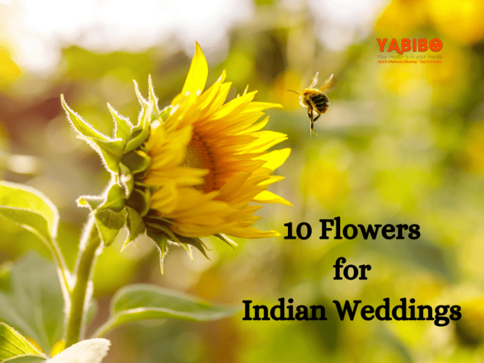 10 Flowers for Indian Weddings
