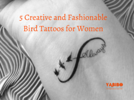 5 Creative and Fashionable Bird Tattoos for Women
