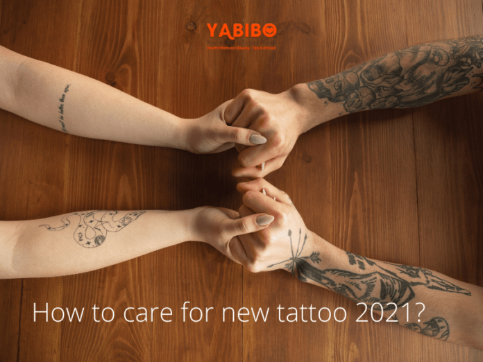 How to care for new tattoo 2021?
